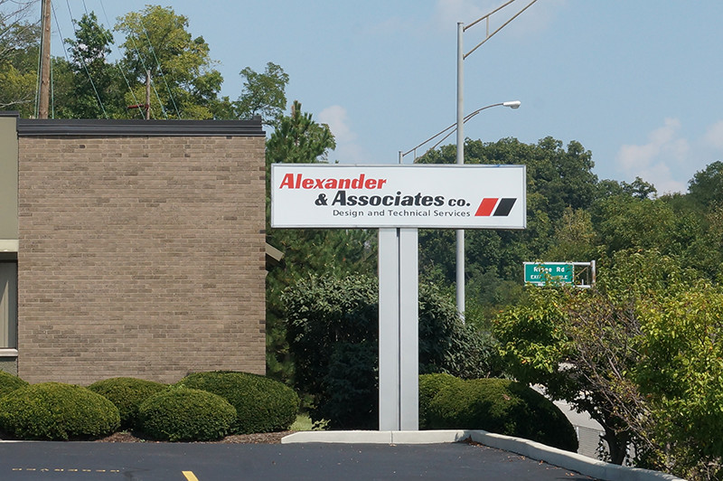 A&A Main Office Sign
